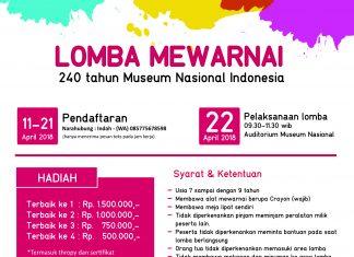 Lomba Mewarnai Museum Nasional