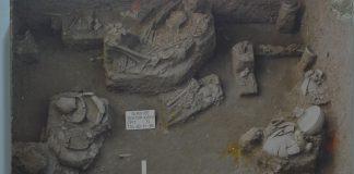Pola Kubur Prasejarah di situs Gilimanuk -Dokumentasi BPCB GIANYAR