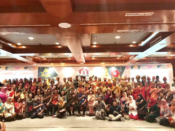 Foto bersama kegiatan Lomba Cerdas Cermat Museum 2018