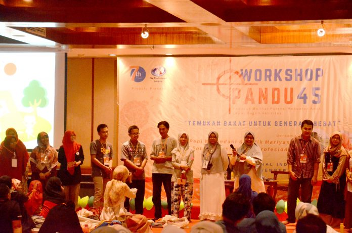 Workshop Institut Ibu Profesional Pandu 45