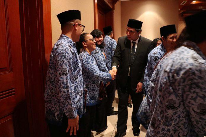 Pelantikan CPNS Ditjen Kebudayaan 2019